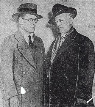 David Rockola with his attorney Louis Piquette